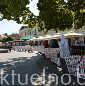 Održani mirni protesti Majki Srebrenice: Pomozite nam da pronađemo kosti ubijene djece i muževa