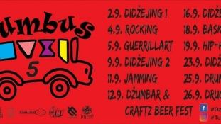 Počinje 5. Džumbus Festival – Tuzla 2-26.9.2020 !!!
