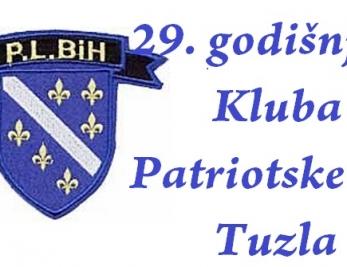 Najava obilježavanja 29. godišnjice Patriotske lige Tuzla