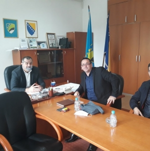 Predsjednik Skupštine TK upriličio prijem za predstavnike Udruženja Maloljetni borci ARBiH Grad Tuzla