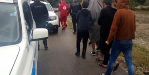Pripadnici Granične policije spasili migrante od utapanja