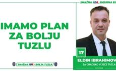 Eldin Ibrahimović, kandidat SDA Tuzla za Gradsko vijeće: Imamo Plan za bolju Tuzlu!
