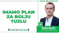 Emir Bajić, kandidat SDA Tuzla za Gradsko vijeće: Imamo Plan za bolju Tuzlu!