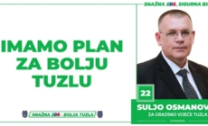 Suljo Osmanović, kandidat SDA Tuzla za Gradsko vijeće: Imamo Plan za bolju Tuzlu!