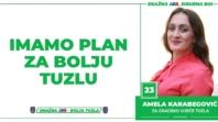 Amela Karabegović, kandidat SDA Tuzla za Gradsko vijeće: Imamo Plan za bolju Tuzlu!