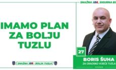 Boris Šuha, kandidat SDA Tuzla za Gradsko vijeće: Imamo Plan za bolju Tuzlu!