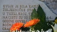 """Obavještenje o sanaciji spomen obilježja žrtvama holokausta """"Suza"""""""