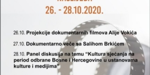 """JU BKC TK: """"Dani audiovizuelnog naslijeđa"""" počinju projekcijom dokumentarnih filmova Alije Vokića"""