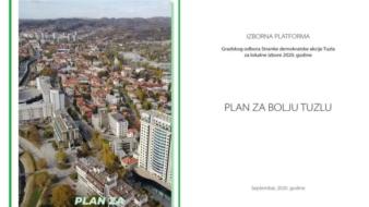 SDA: Plan za bolju Tuzlu garantuje novi razvojni ciklus Grada