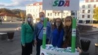 Snažna SDA, bolja Tuzla: Kandidati i aktivisti u razgovoru sa građanima