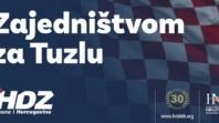HDZ BiH Tuzla: Naš cilj je učiniti svako naseljeno mjesto boljim i funkcionalnijim za svakodnevni život