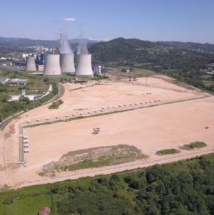 Gradilište Bloka 7 TE Tuzla u fazi predaje kineskom partneru
