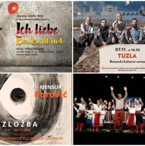JU BKC TK mjesec novembar otvara sa koncertima, predstavom i izložbom