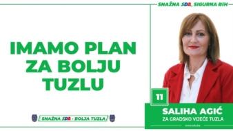 Saliha Agić, kandidat SDA Tuzla za Gradsko vijeće: Imamo Plan za bolju Tuzlu!