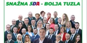 Druga stranka po snazi u Gradskom vijeću Tuzla: SDA osvojila pet vijećnićkih mandata