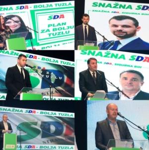 Završni skup GO SDA Tuzla: Glas za kandidate sa liste SDA je glas za bolju Tuzlu