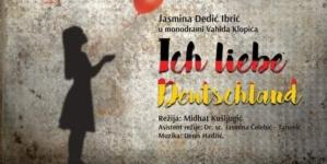 "JU BKC TK: U srijedu, 4. novembra, tuzlanska premijera monodrame ""Ich liebe Deutschland"""
