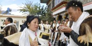 Stanovnici slave Gongbo Novu godinu na Tibetu
