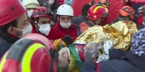 Trogodišnja djevojčica spašena iz ruševina 65 sati nakon potresa u Izmiru