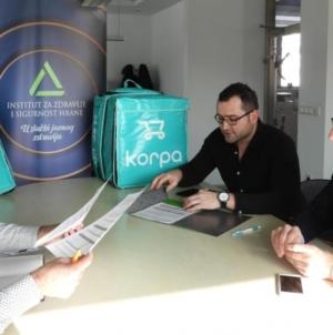 Ugovor INZ-a i 'Korpa.ba': Kupcima još bolja usluga i sigurnija hrana