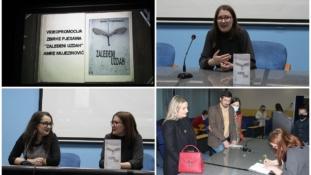 """BKC TK: U Tuzli promovisana knjiga poezije """"Zaleđeni uzdah"""", Amre Mujezinović"""