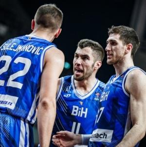 Pobjeda košarkaša BiH za kraj kvalifikacija