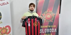 Luka Đorđević novi rukometaš Slobode