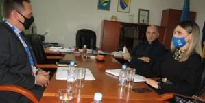 Posjeta delegacije OSCe-a BiH Skupštini Tuzlanskog