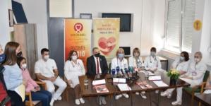 U znak podrške djeci oboljeloj od kancera danas u UKC Tuzla održana konferencija za novinare