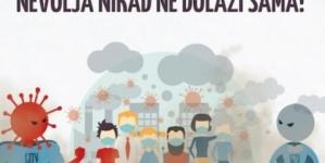 """Regionalna kampanja """"Ujedinjeni Balkan za čist zrak"""" /Aerozagađenje i COVID-19"""