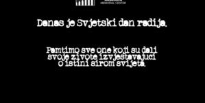 Memorijalni centar Srebrenica: Radio je bio ključni glas pred nadolazeći genocid