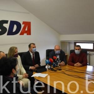 SDA TK: Želimo da alarmiramo i probudimo Vladu TK jer je očito da nas čeka veoma teško vrijeme VIDEO