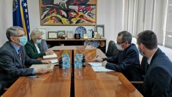 Posjeta NJ.E. Yassera Sorour, ambasadora Arapske Republike Egipat u BiH, gradonačelniku Tuzle