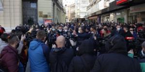U Sarajevu mirni protesti povodom najavljenog lockdowna