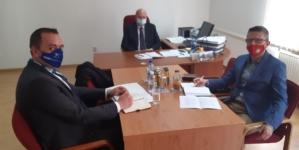 Radni sastanak OSCE-a i kantonalnog ministra za rad, socijalnu politiku i povratak