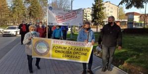 Održana druga protestna šetnja u Lukavcu zbog prekomjernog zagađenja zraka