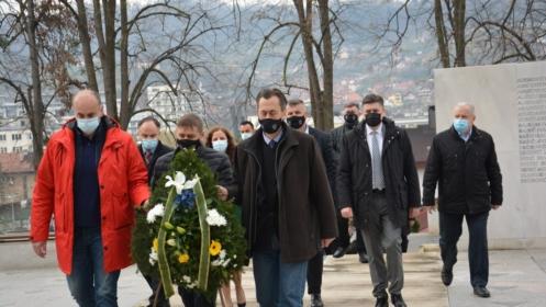 Nizom prigodnih manifestacija i događaja nastavljeno obilježavanje 15 aprila Dana Armije BiH