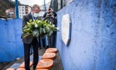 Bakir Izetbegović u posjeti Memorijalnom centru Srebrenica