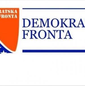 Saopćenje za javnost Demokratske fronte