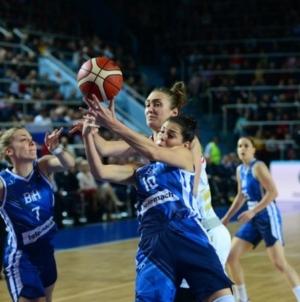 Na utakmicama košarkašica BiH na EP-u u Francuskoj moći će prisustvovati 3.600 gledalaca