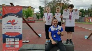 Uspješan nastup mladih atletičara Slobode na mitingu 'Trofej Banja Luke'
