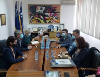 Gradonačelnik Tuzle primio u posjetu gradonačelnika Gradiške