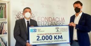 BBI banka donirala sredstva Domu za djecu bez roditeljskog staranja u Tuzli