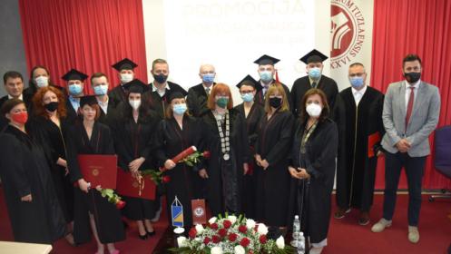 Svečana promocija doktora nauka na Univerzitetu u Tuzli