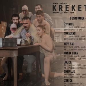 Ljetna turneja predstave 'Kreketanje' NP Tuzla