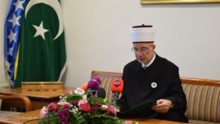 Bajramska čestitka muftije tuzlanskog Vahid-ef. Fazlovića