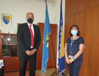 Održani sastanak predsjednika Skupštine TK i predstavnice Misije OSCe-a u BiH