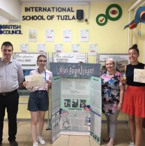 Tuzlanske učenice osvojile zlato na međunarodnoj olimpijadi VILIPO u Litvaniji