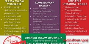 Visokoškolska ustanova FINra jedinstvena u regionu