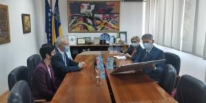 Sastanak ambasadora Republike Turske i gradonačelnika Tuzle